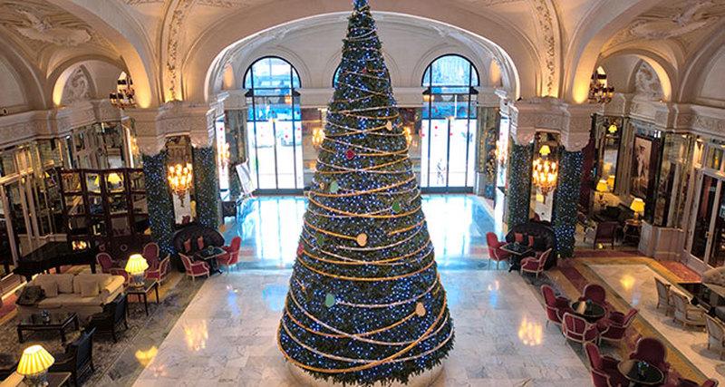 Hotel de Paris Monte-Carlo празднует Новый 2017 год вместе сювелирным домом Chopard