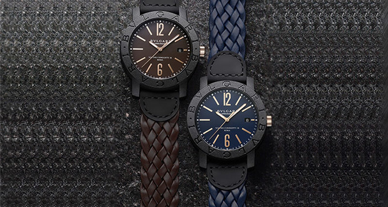 Новые часы Bulgari Carbon Gold