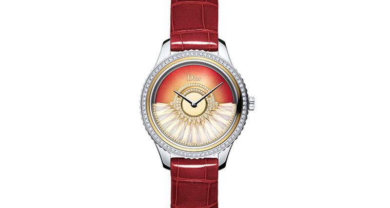Новинка Dior Horlogerie - часы Dior VIII Grand Bal Plume