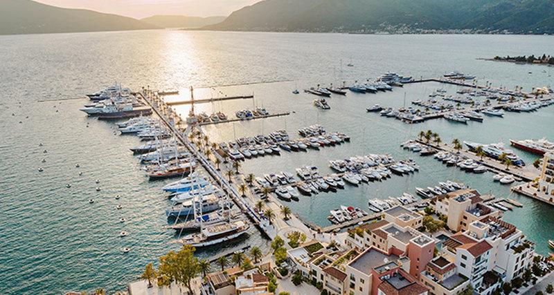 Porto Montenegro принимает вторую выставку суперъяхт MYBA