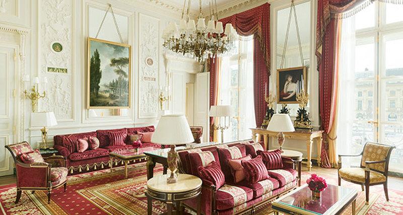 Зимние праздники вRitz Paris