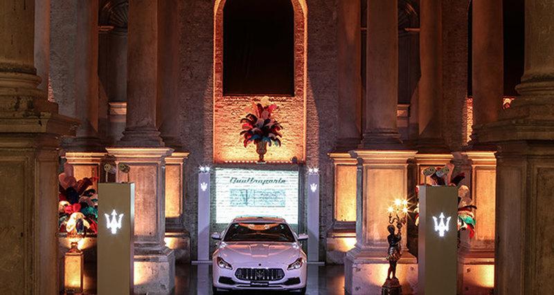 Maserati защищает художественное наследие Венеции