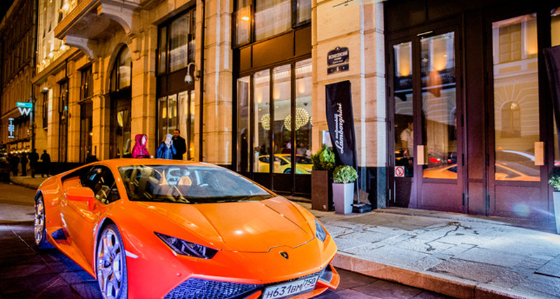 Automobili Lamborghini открывает дилерский центр вСанкт-Петербурге