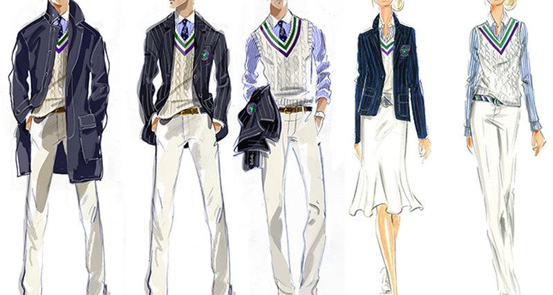 Polo Ralph Lauren, официальный поставщик Уимблдона, выпускает новую форму