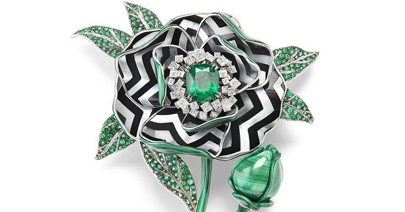 Ювелирные украшения в форме цветов