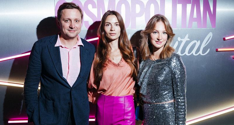 Светская Москва навечеринке Cosmopolitan Digital Party