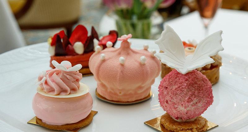 Отель The Lanesborough приглашает начайную церемонию Pink Princess
