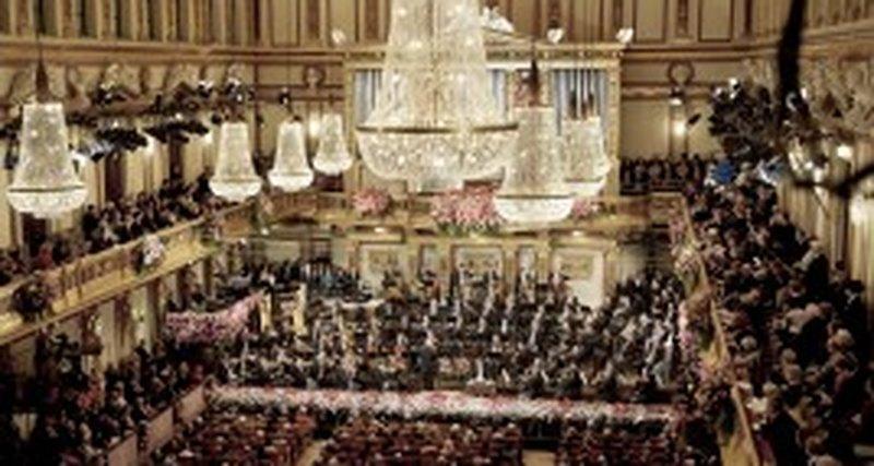 Новогодний концерт Венского филармонического оркестра, Вена, 1 января