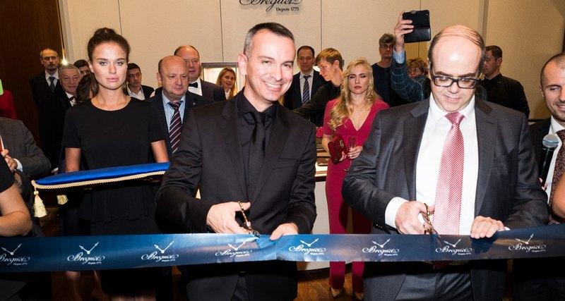 В ГУМе прошло торжественное открытие нового бутика Breguet