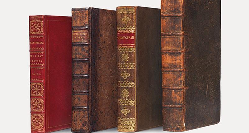Первые четыре фолио произведений Шекспира