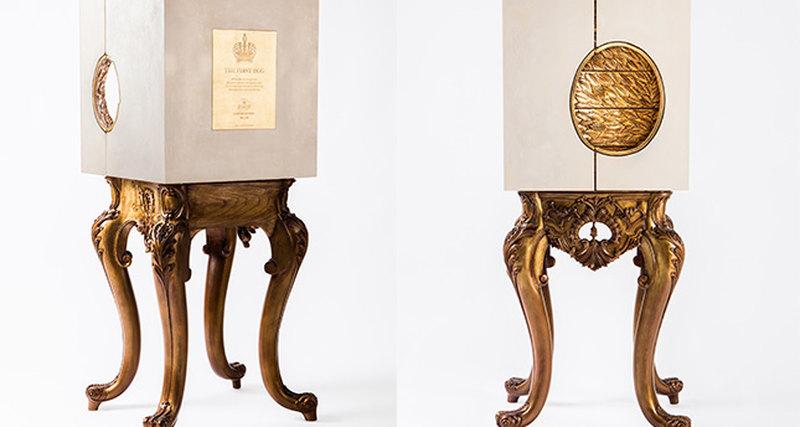 Португальский бренд Alma de Luce трансформировал яйцо Фаберже впредмет интерьера