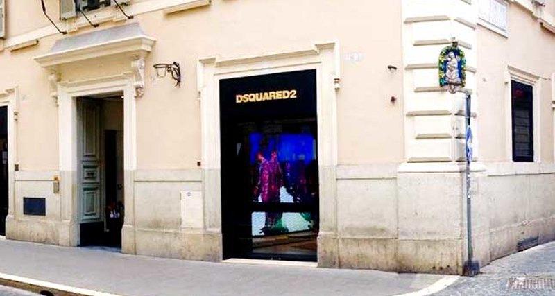 Открылся флагманский бутик Dsquared2 вРиме