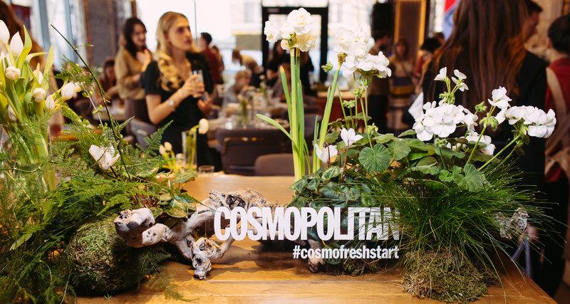 Журнал Cosmopolitan открыл новый сезон