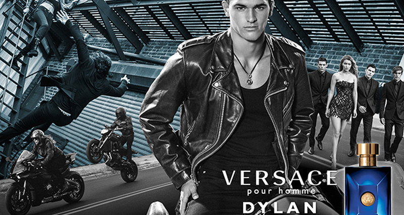 Versace представляет новый мужской аромат Dylan Blue