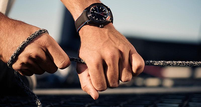 В рамках America's Cup Omega представила новые модели часов