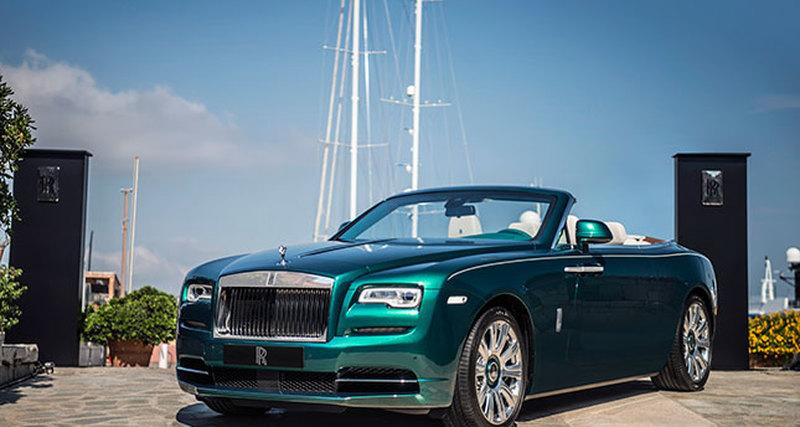 Выпущен единственный вмире Rolls-Royce вчесть юбилея отеля Byblos Сен-Тропе