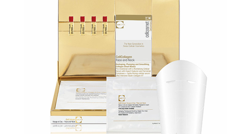Новинка Cellcosmet - клеточная маска-вуаль длялица ишеи CellCollagen CellEctive