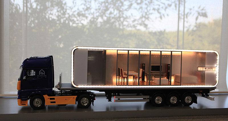 Alpod - алюминиевый мобильный дом будущего изГонконга