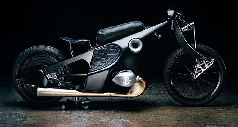 Американская Revival Cycles «оживила» модель BMW Landspeeder