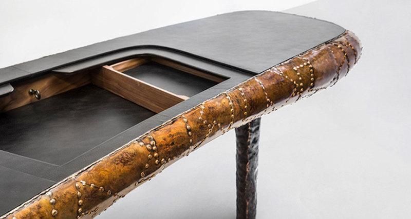 Маартен Баас представил навыставке вНью-Йорке «ракушечную» мебель