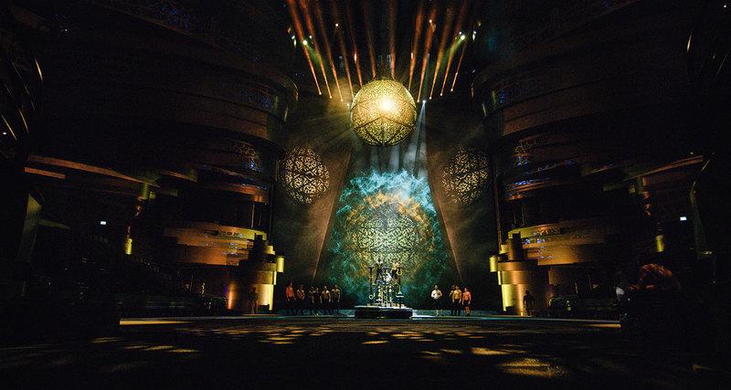 Самое масштабное шоу вДубае