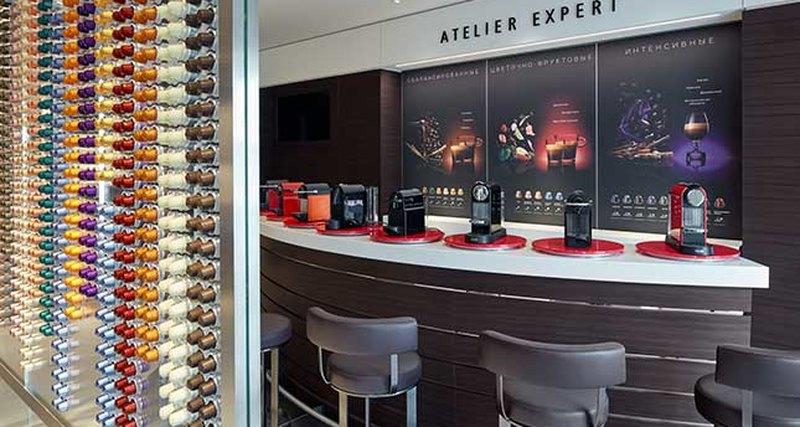 В Москве открылся первый флагманский бутик Nespresso