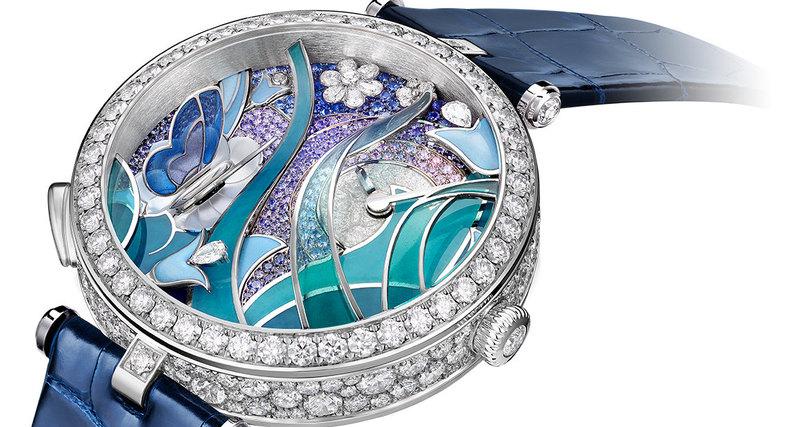 Часы Van Cleef & Arpels признаны лучшими женскими часами сусложнениями