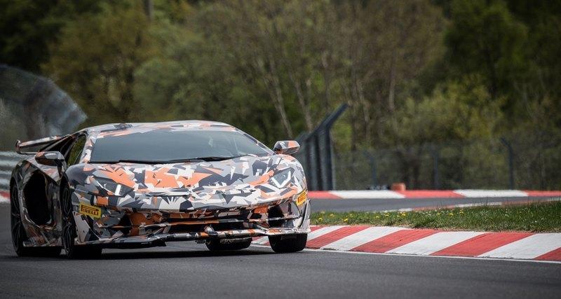 Lamborghini Aventador SVJ установил новый рекорд Северной петли «Нюрбургринга»