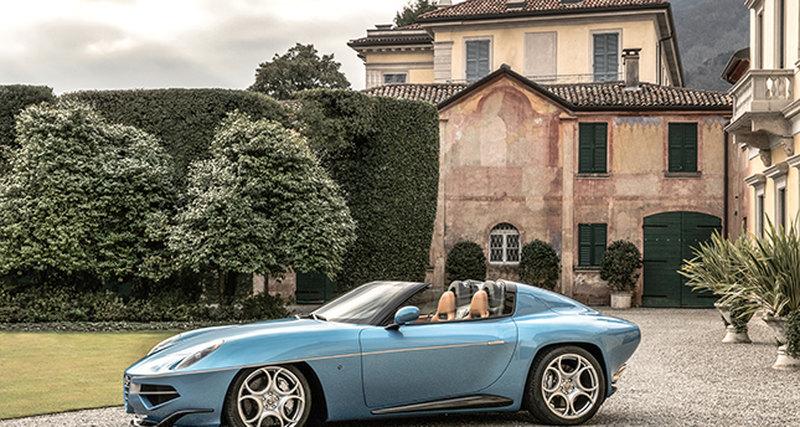 Мировая премьера Alfa Romeo Disco Volante Spyder наЖеневском автосалоне 2016