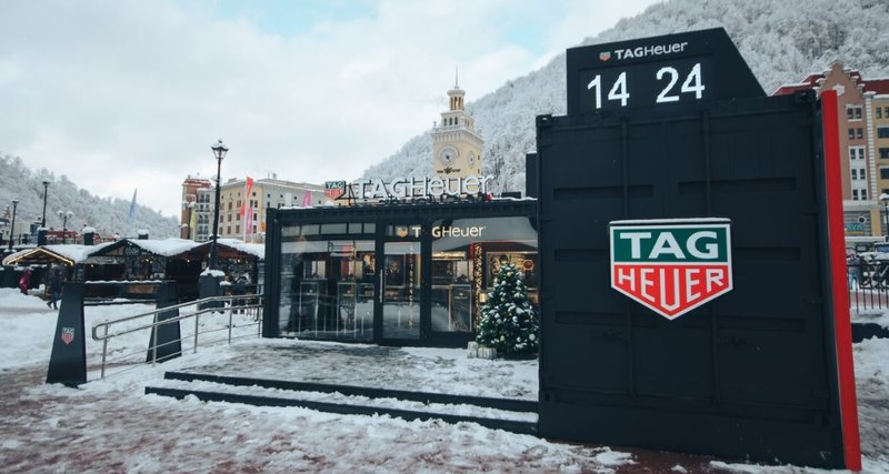 TAG Heuer открывает зимний бутик в«Роза Хутор»