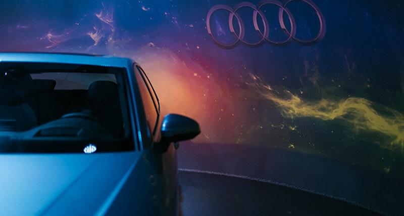 Audi #a4space вЦветном