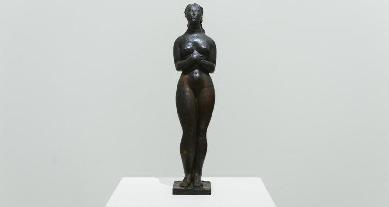 Открытие выставки Жака Липшица вММОМА