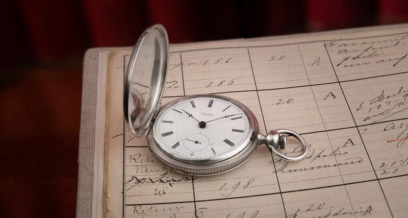 Найдены часы Longines 1867 года производства