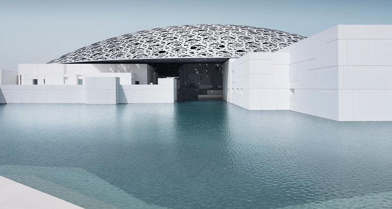 Открытие Лувра вАбу-Даби
