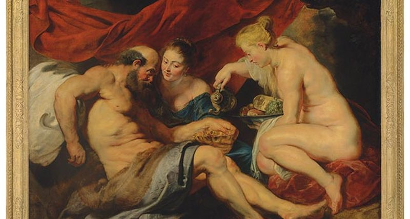 Шедевр Рубенса «Лот иего дочери» продан за€52 422 760