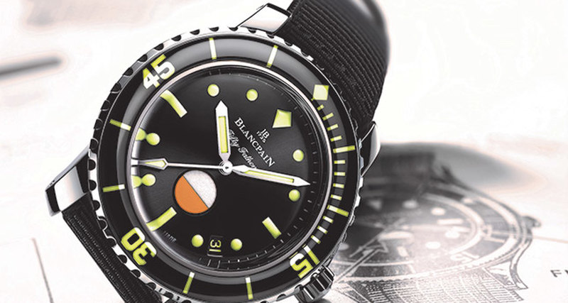 Новая модель Blancpain Fifty Fathoms MIL-SPEC