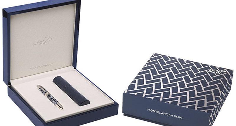 Montblanc выпустил ручку дляBMW