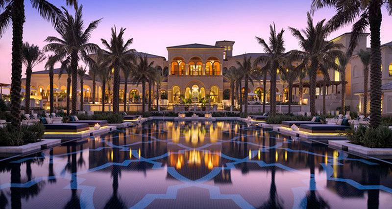 Самые необычные услуги впятизвездочных отелях Дубая