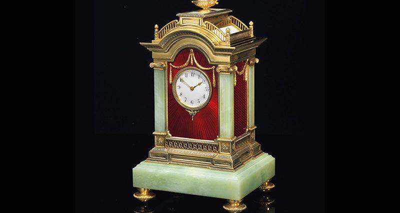 Часы Фаберже - один изтоп-лотов русских торгов Christie's