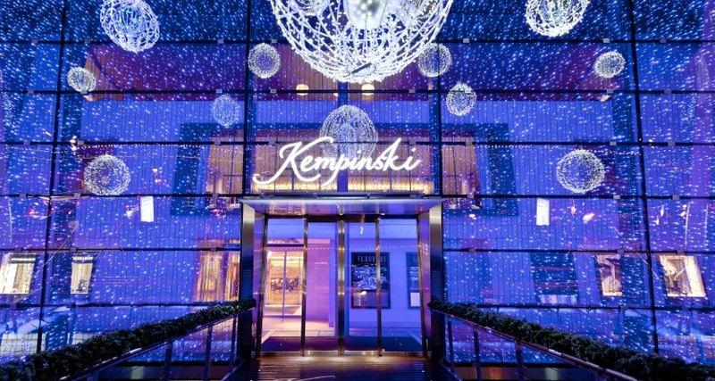 Новогодняя сказка вGrand Hotel Kempinski Женева