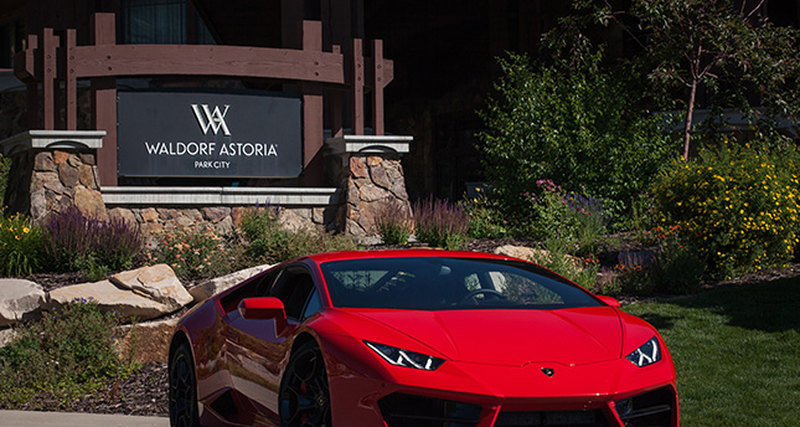 Waldorf Astoria и Automobili Lamborghini объединили усилия в рамках Waldorf Astoria Driving Experiences