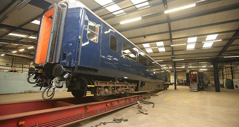 Новый поезд Belmond Grand Hibernian вИрландии