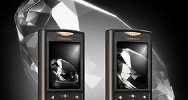 Бриллиантовый телефон отGresso