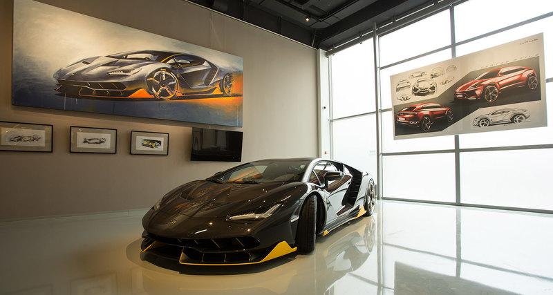 Выставка «Lamborghini: легенда дизайна» открылась вмузее современного искусства