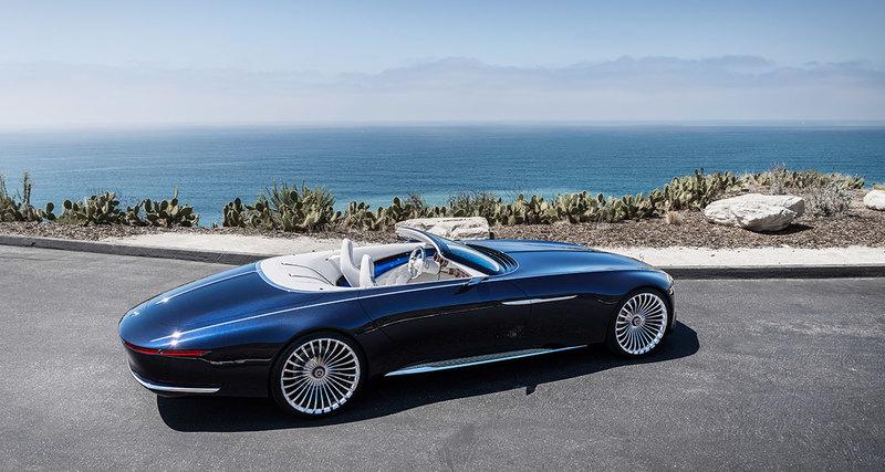 Лучше кабриолета может быть только Vision Mercedes-Maybach 6