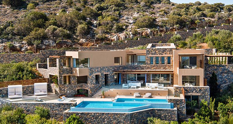 Новая вилла Daios Mansion наКрите