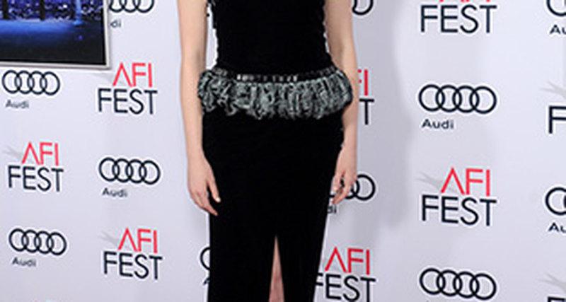 Эмма Стоун вGiorgio Armani нафестивале AFI Fest