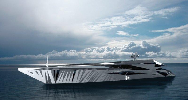 Как будет выглядеть яхта, вдохновленная НЛО?