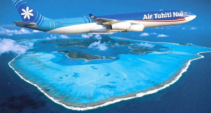 Air Tahiti Nui разработала дляроссиян специальный маршрут