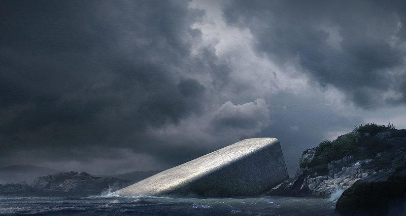 Первый вЕвропе подводный ресторан